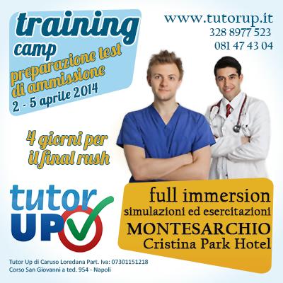 Training Camp: il programma