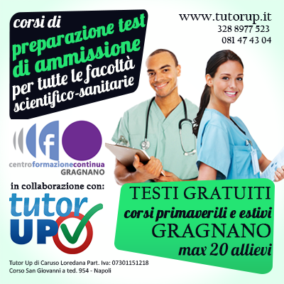 i nuovi corsi Tutor Up: Primaverile, Intensivo, precorso 2016