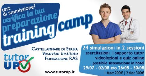 Training Camp Luglio / Agosto