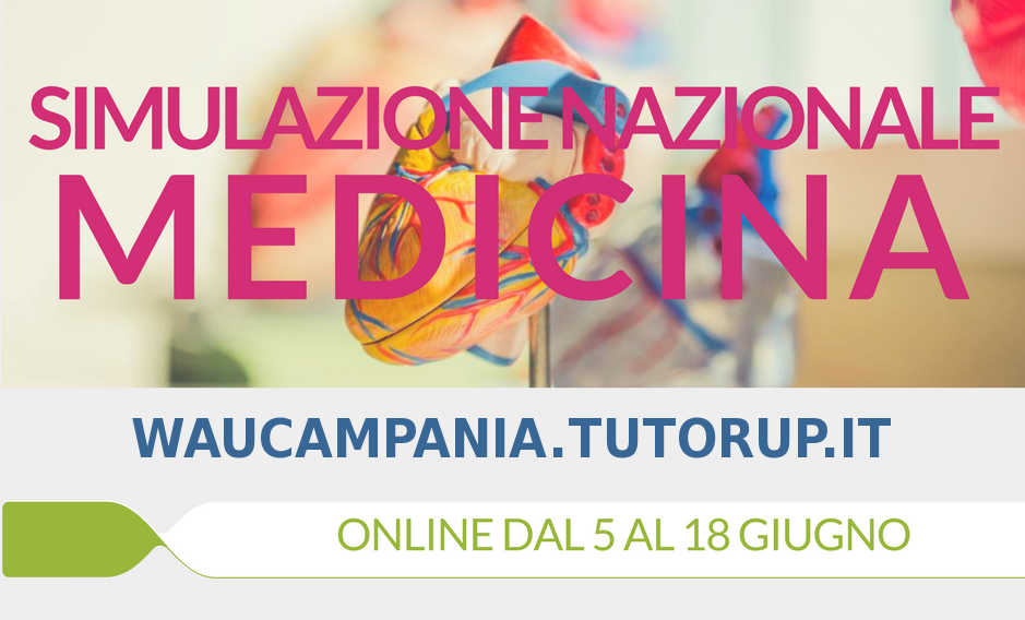 San raffaele ecco le date del test 2018 tutor up for Simulazione medicina