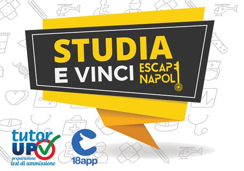 Studia con noi, vinci Escape Napoli