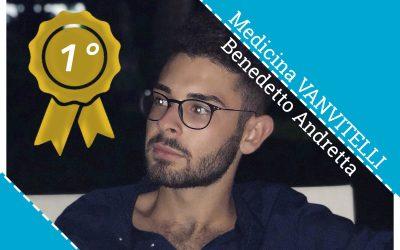 Risultati Test Medicina 2019: Primo alla Vanvitelli il nostro allievo Benedetto Andretta