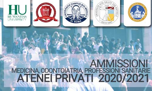 Test Medicina ed Odontoiatria Private: tutte le informazioni dei concorsi 2021